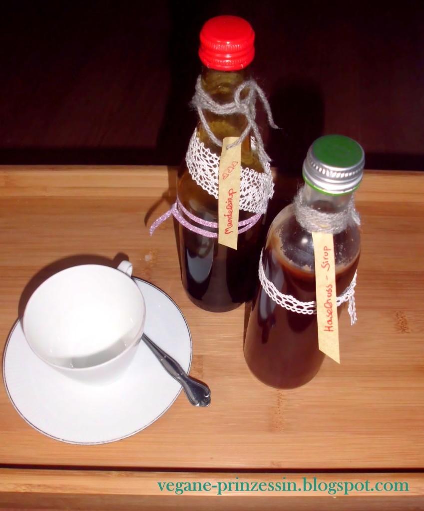 Haselnuss-Sirup und Mandelsirup2
