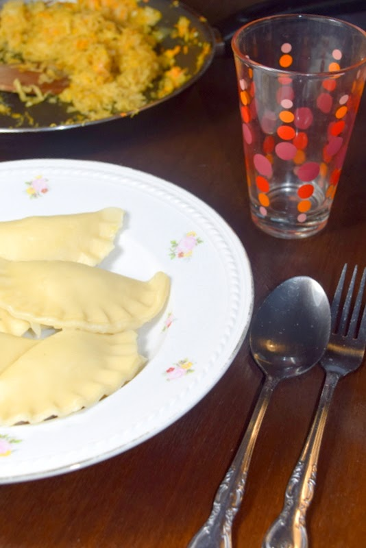 Ravioli (Sauerkraut-Wareniki bzw. Piroggen)