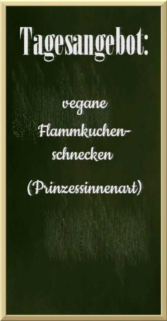 Tafel Flammkuchen-Schnecken vegan