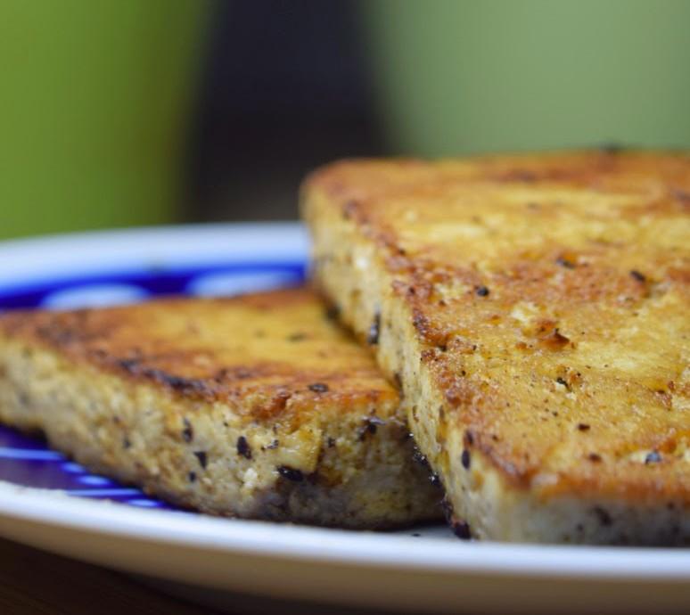 Tofu zum Grillen und Braten - vegan