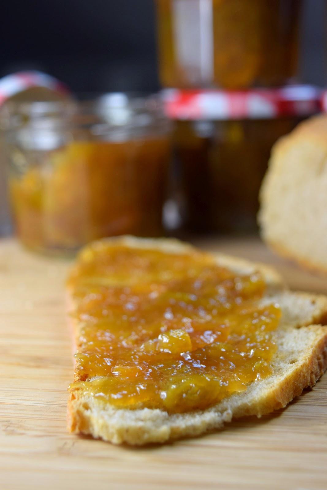 Rhabarber-Aprikosen-Marmelade-vegan