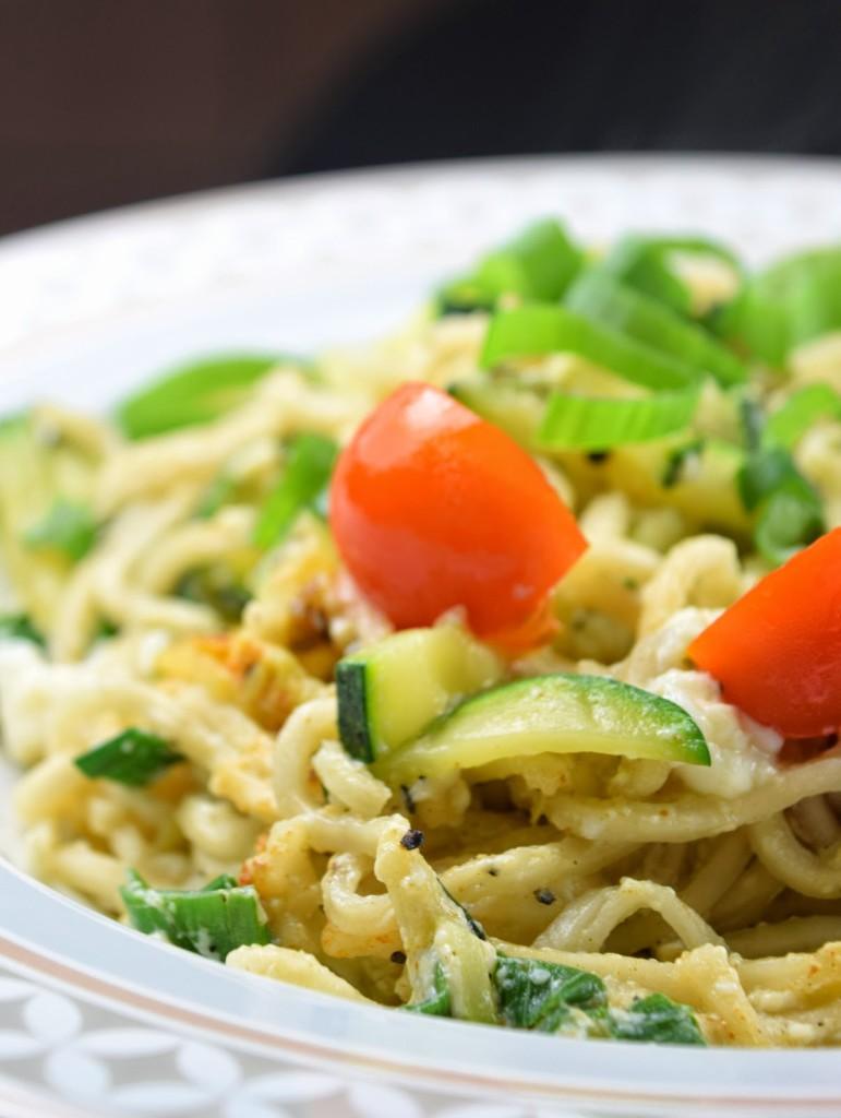 Gebratene Nudeln - vegan, schnell, einfach & günstig