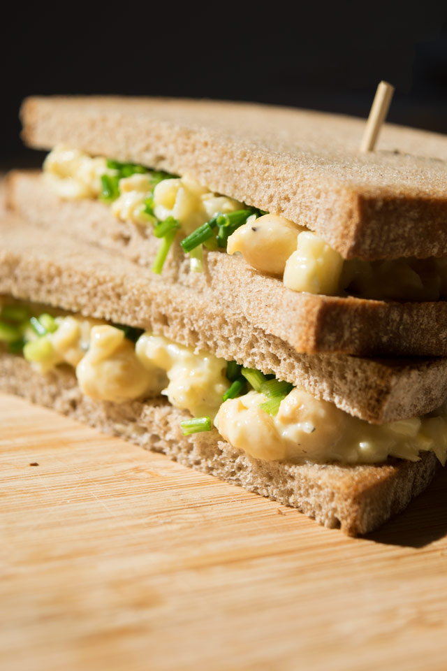 Eiersalat-Brote (vegan & selbstgemacht)