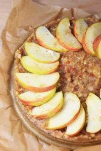 Apfelkuchen (raw & vegan)