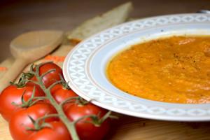 Vegane Rote-Linsen-Suppe (türkisch)