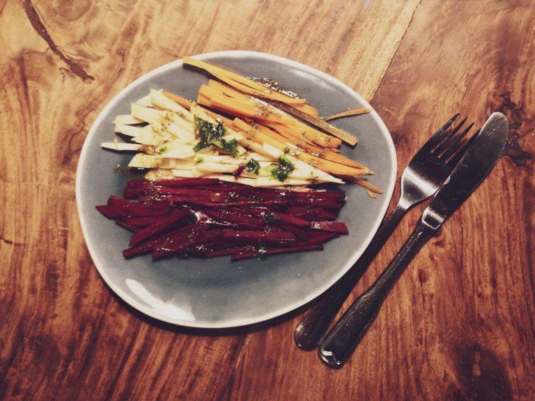 Rote Bete-Rüben-Salat vegan