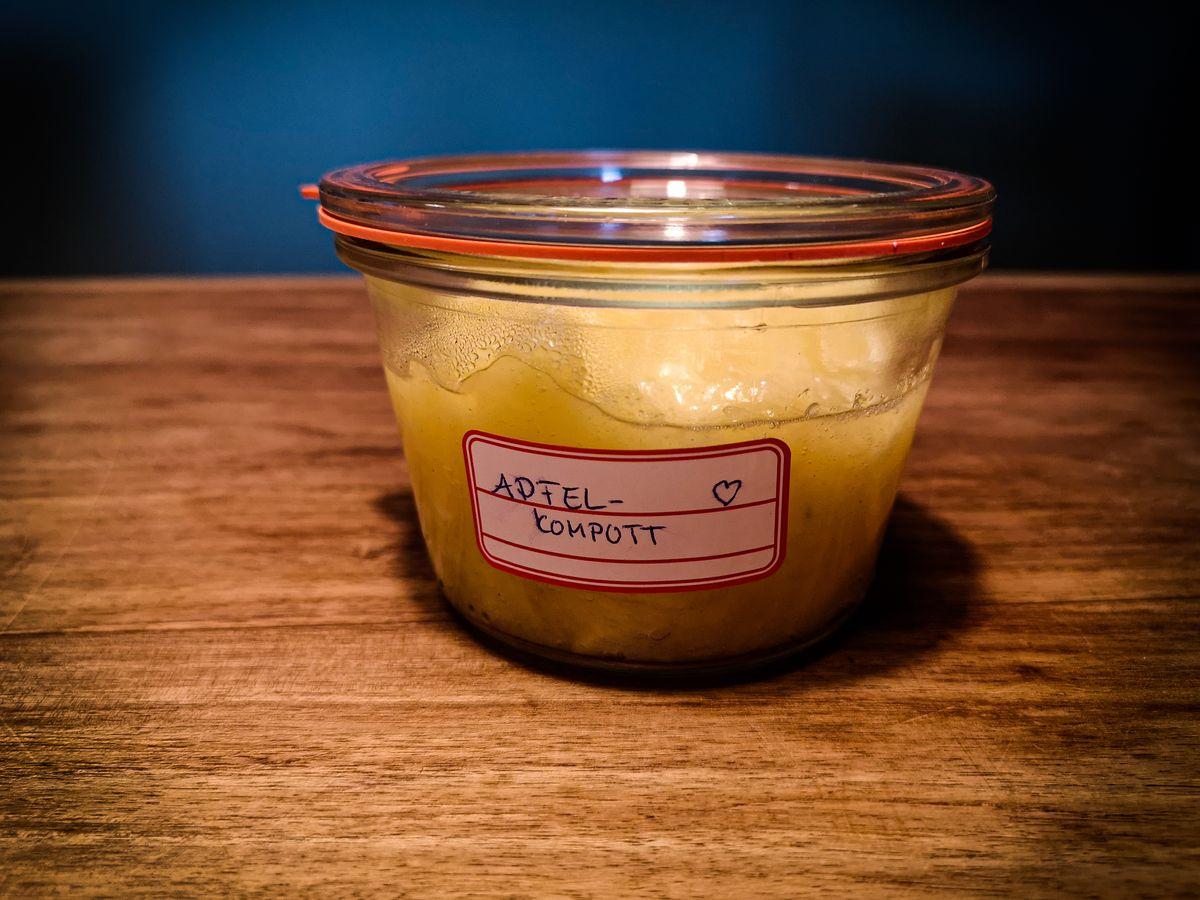 Apfelkompott [Rezept + Einkochen]