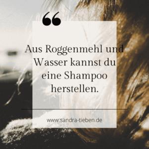 Haare waschen mit Roggenmehl: Die Zero Waste Variante