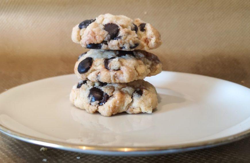 Super geile vegane Chocolate Chip Cookies – ohne fancy Zutaten!