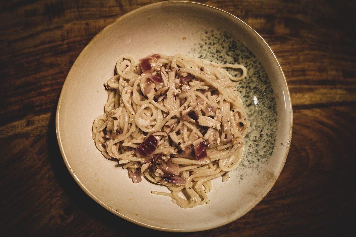 Vegane Spaghetti Carbona