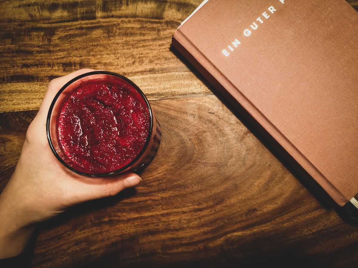 Rote Bete-Apfel-Smoothie