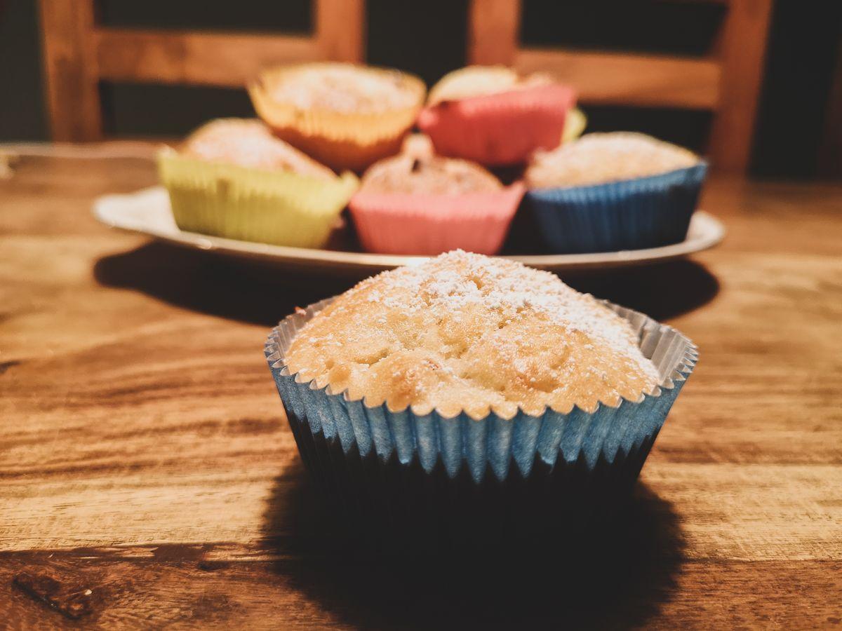 Himmlisch saftige Apfel-Nuss-Muffins